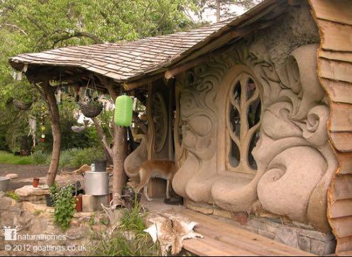artistic cob house