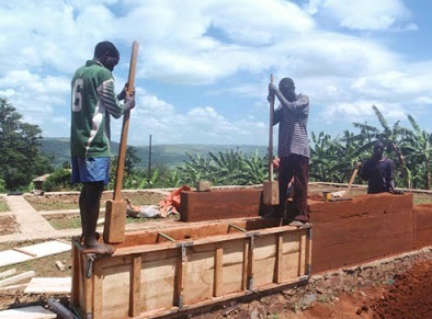 Building Rammed Earth in Rwanda