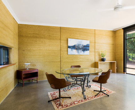 Rammed Earth Interior Australia