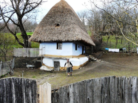 Romanian Fairy Tale House