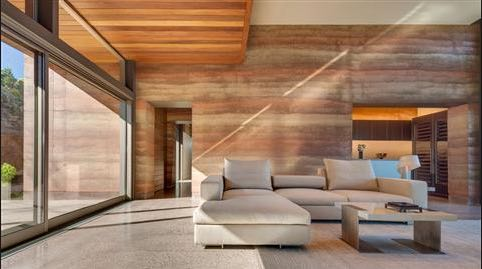 swank rammed earth home