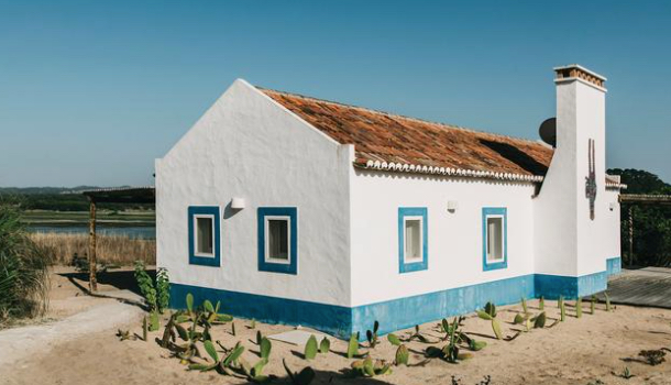 Traditional Portugese Adobe Home