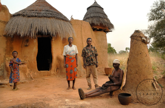 Tradtional Cob Houses of Ghana