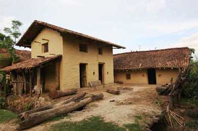 adobe home in jantanger india