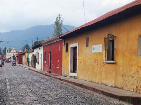 Adobe Houses in Guatamala