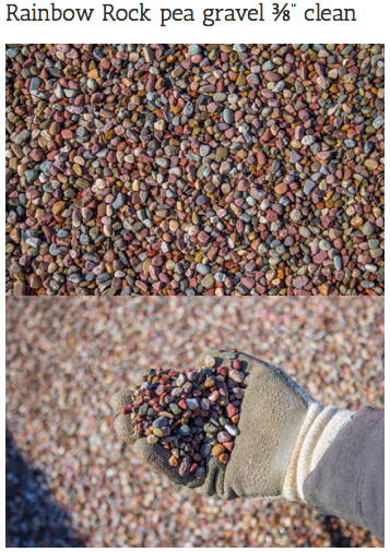 Decorative Pea Gravel