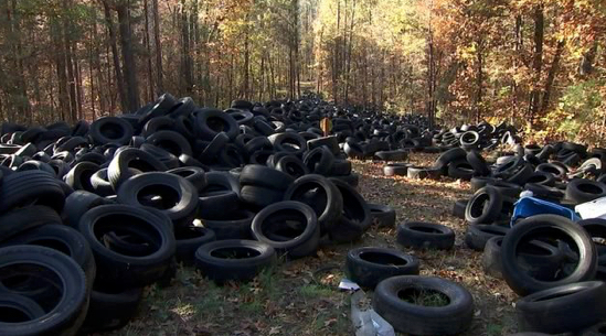 Illegal Tirrere Dump in Georgia