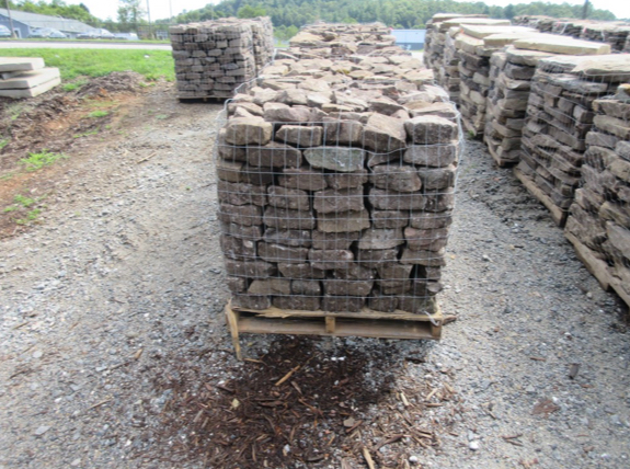Medium Dry Stack Field Stones