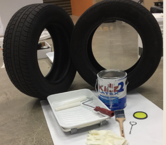 Paint the tire #4
