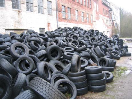Wikipedia Tire Pile