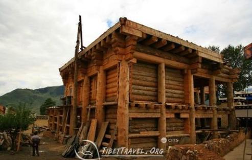 Tibetan Wood House